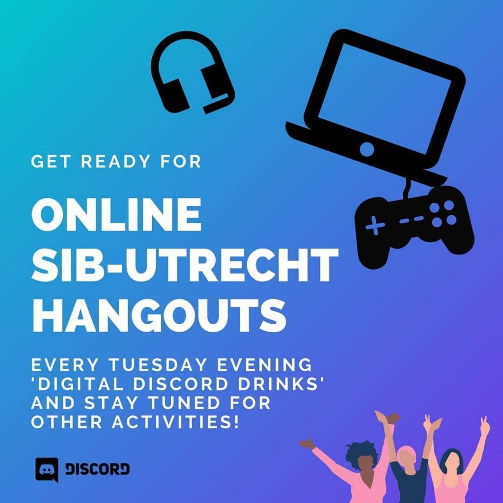 Online SIB-Utrecht Hangouts announcement